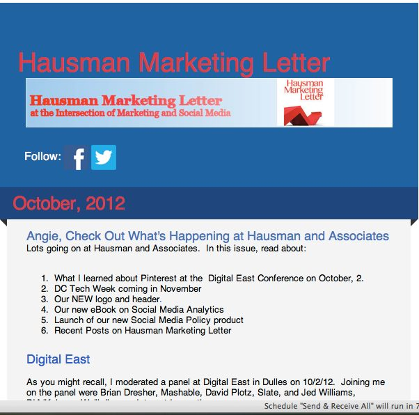 ways to use newsletters