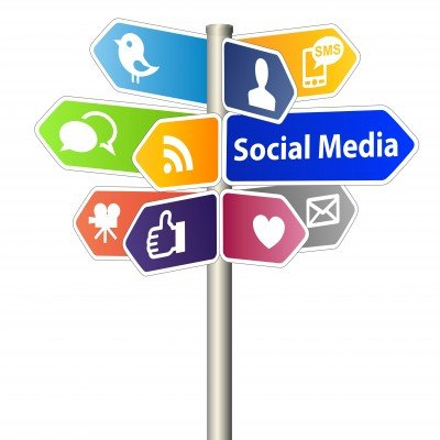 social media support your local business