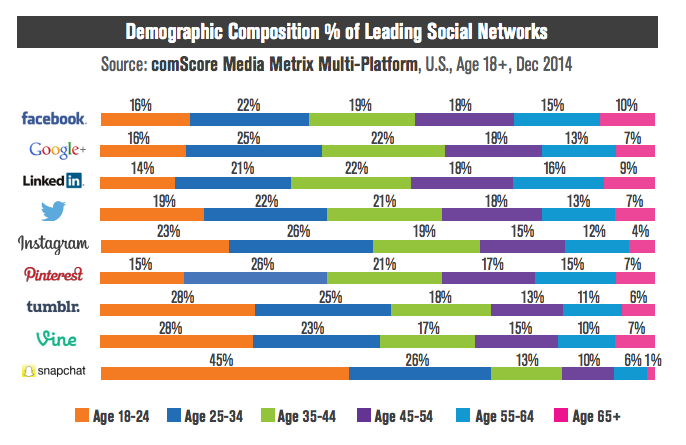 demographics across social media