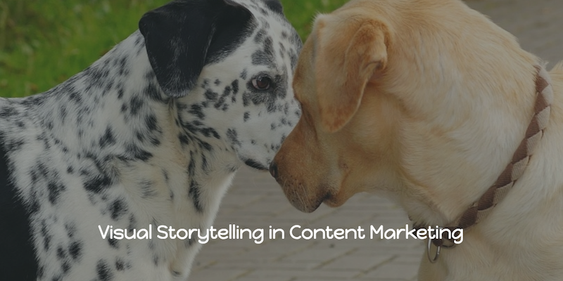 visual storytelling in content marketing